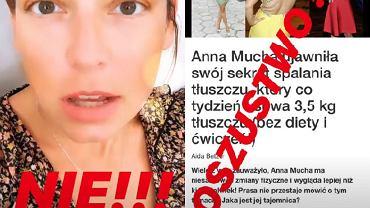 Anna Mucha padła ofiarą oszustów tabletek na odchudzanie. 'Nie wierzcie w to!'