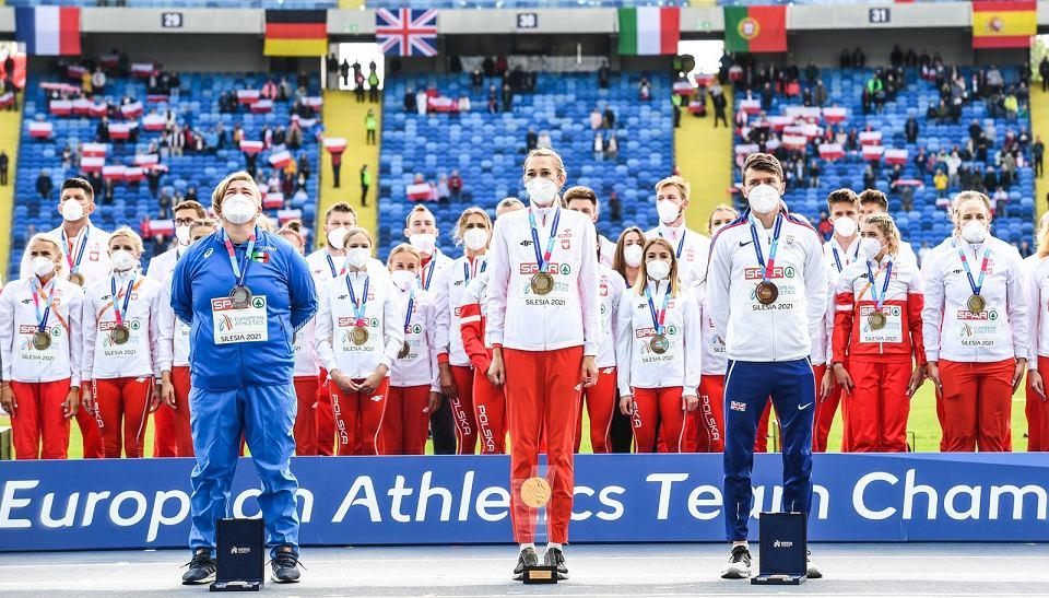 Zdjęcie numer 2 w galerii - Ponownie złota polska drużyna lekkoatletyczna, a w niej Kornelia Lesiewicz