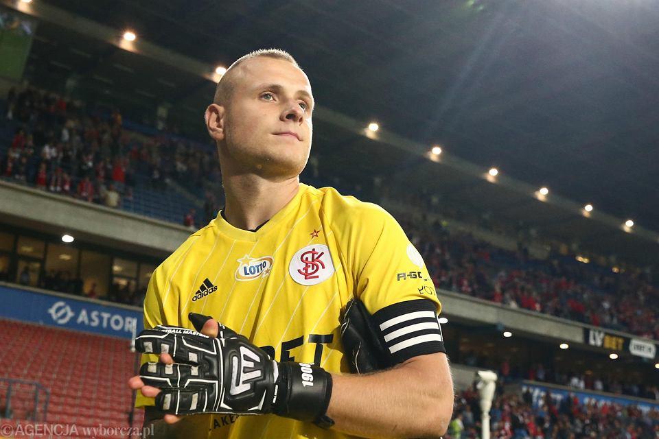 Michał Kołba, bramkarz ŁKS, po meczu z Wisłą Kraków