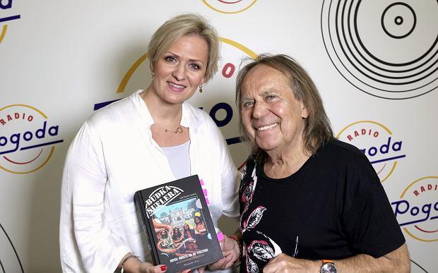 Anna Stachowska i Romuald Lipko w studiu Radia Pogoda