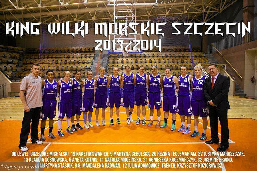 Zespół koszykarek