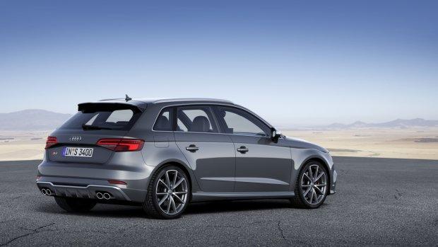 Audi S3 po faceliftingu