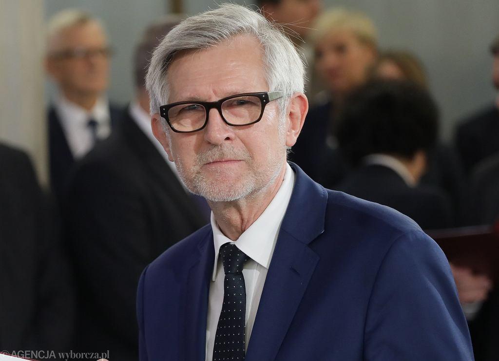 Poseł PiS Witold Czarnecki