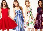 Sukienki w stylu lat 50. - przegląd