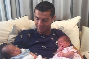 Cristiano Ronaldo z dziećmi