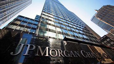 Siedziba banku JP Morgan Chase w Nowym Jorku