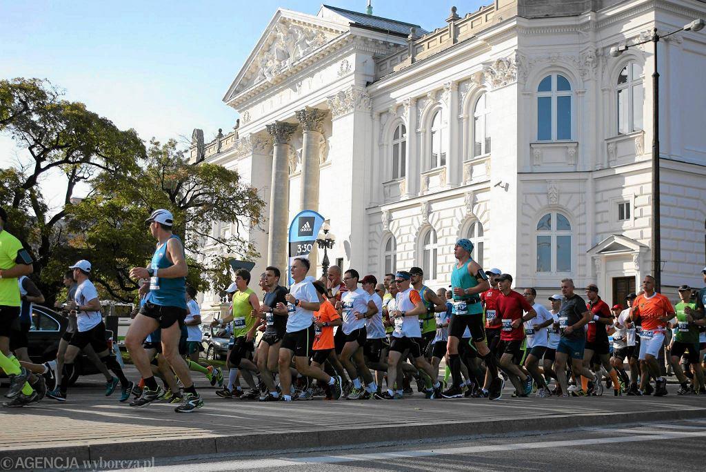Ubiegłoroczny PZU Maraton Warszawski