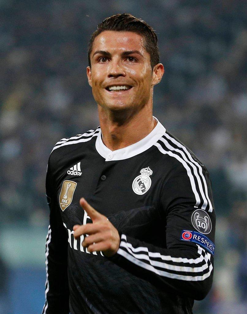 Juventus - Real 2:1. Cristiano Ronaldo