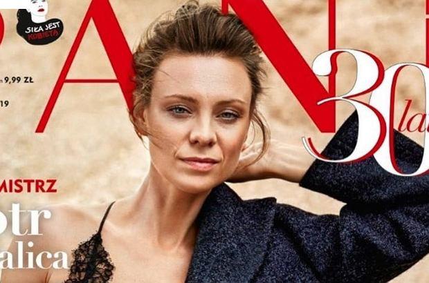 """Magdalena Boczarska pojawiła się na okładce magazynu """"Pani"""". Wyjątkowa, bo zmysłowa sesja aktorki, zachwyciła fanów gwiazdy."""