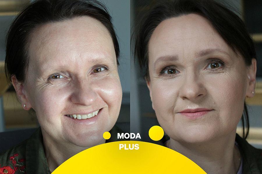 Moda Plus - makijaż