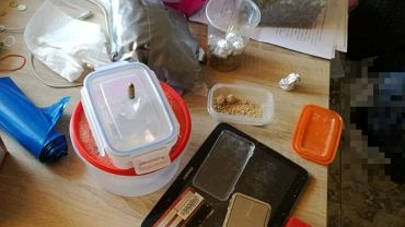 Narkotyki znalezione, u zatrzymanego przez buską policję obywatela Ukrainy
