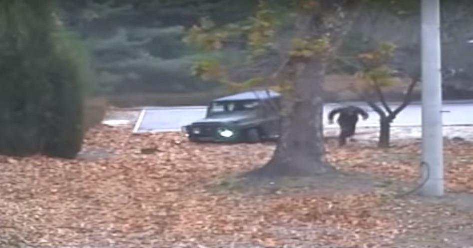 Ucieczka dezertera z Korei Północnej