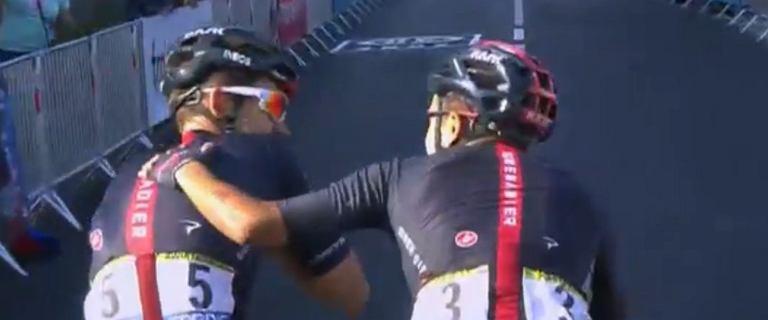 Kwiatkowski wygrał etap na Tour de France! Niecodzienna sytuacja na mecie