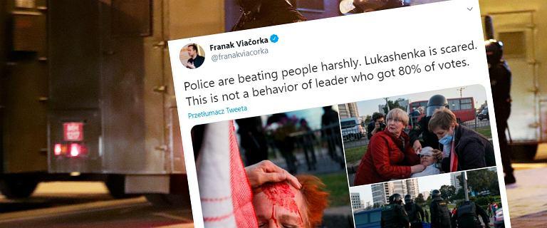 Białoruś. Starcia na ulicach po oficjalnym zaprzysiężeniu Łukaszenki