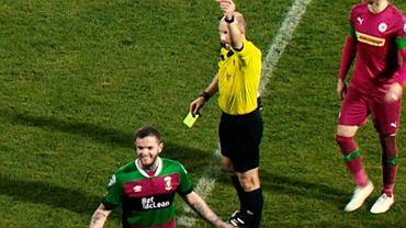 Czerwona kartka dla Darrena Murraya