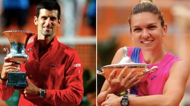 Novak Djoković i Simona Halep