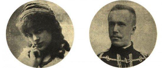 Maria Wisnowską i  Aleksander Barteniew