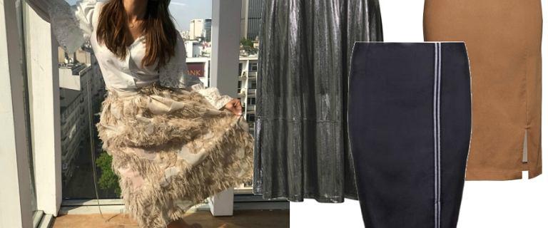 Spódnice midi na zimę: model w stylu Kingi Rusin sprawdzi się na każdą imprezę!