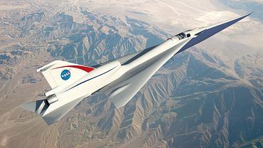 Ponaddźwiękowy samolot NASA - X-Plane
