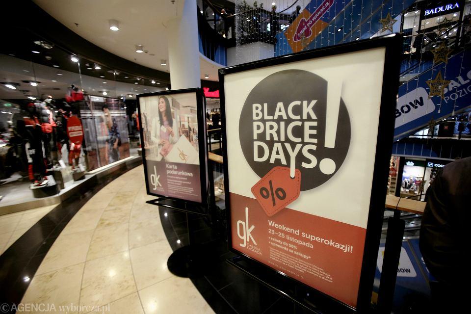 Kiedy wypada Black Friday 2019? (zdjęcie ilustracyjne)