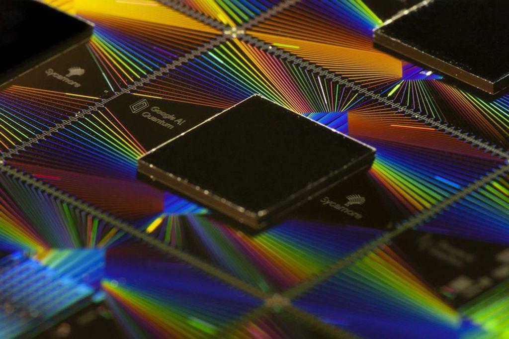 Kwantowy procesor Sycamore skonstruowany w laboratorium Google'a