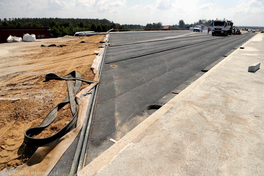 Autostrada A1, budowa odcinka pod Częstochową