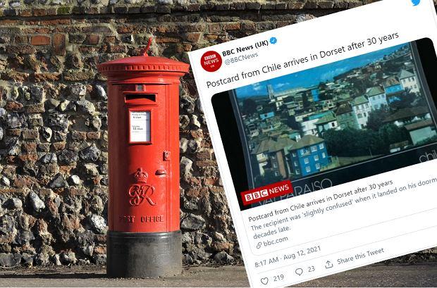 Żarty z Poczty Polskiej na bok! Royal Mail dostarczenie pocztówki zajęło... 30 lat