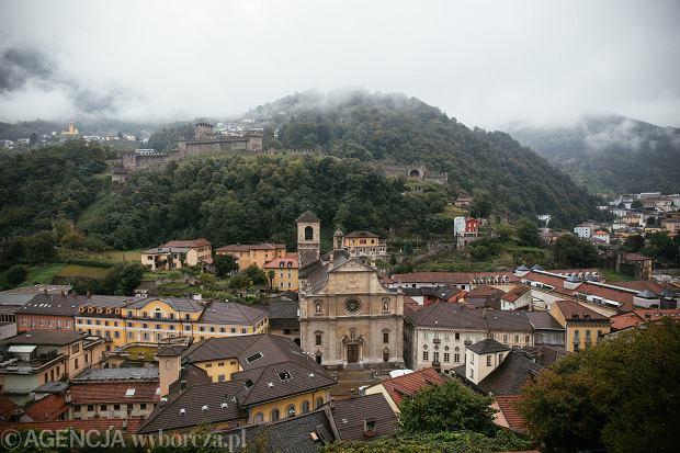 22.09.2020 Szwajcaria , Bellinzona . Zamek Castelgrande .  Fot. Maciek Jazwiecki / Agencja Gazeta