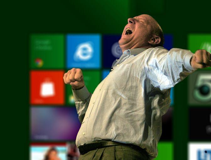 Nikt nie wierzy w sukces Microsoftu tak jak jego prezes Steve Ballmer
