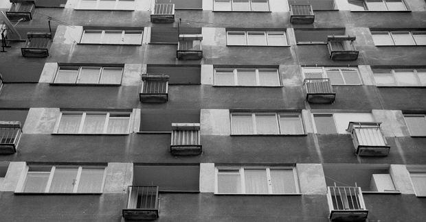Warszawskie, dobrze mi znane blokowiska (fot.Sławomir Kamiński/ Agencja Gazeta)