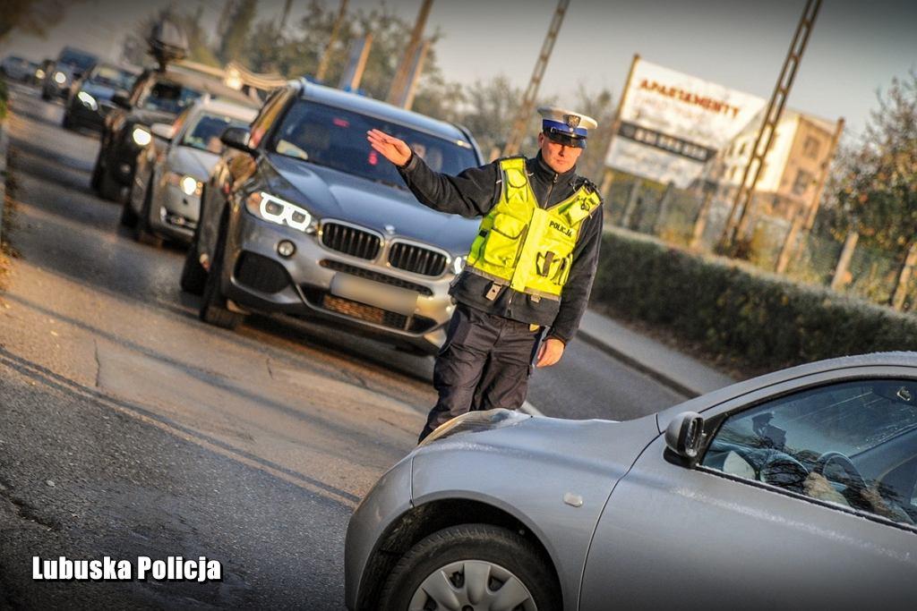 Lubuska policja, akcja Znicz 2019