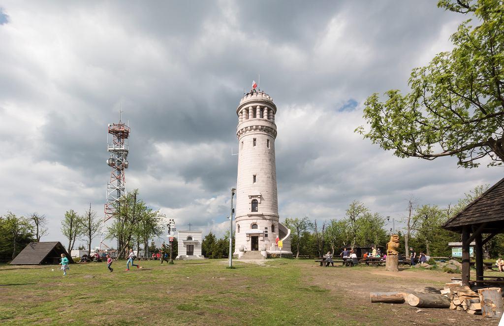 Wielka Sowa - wieża widokowa