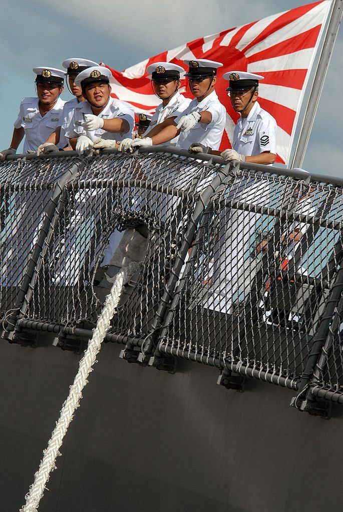 Japońscy marynarze