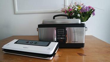 zestaw urządzeń do gotowania metodą sous-vide