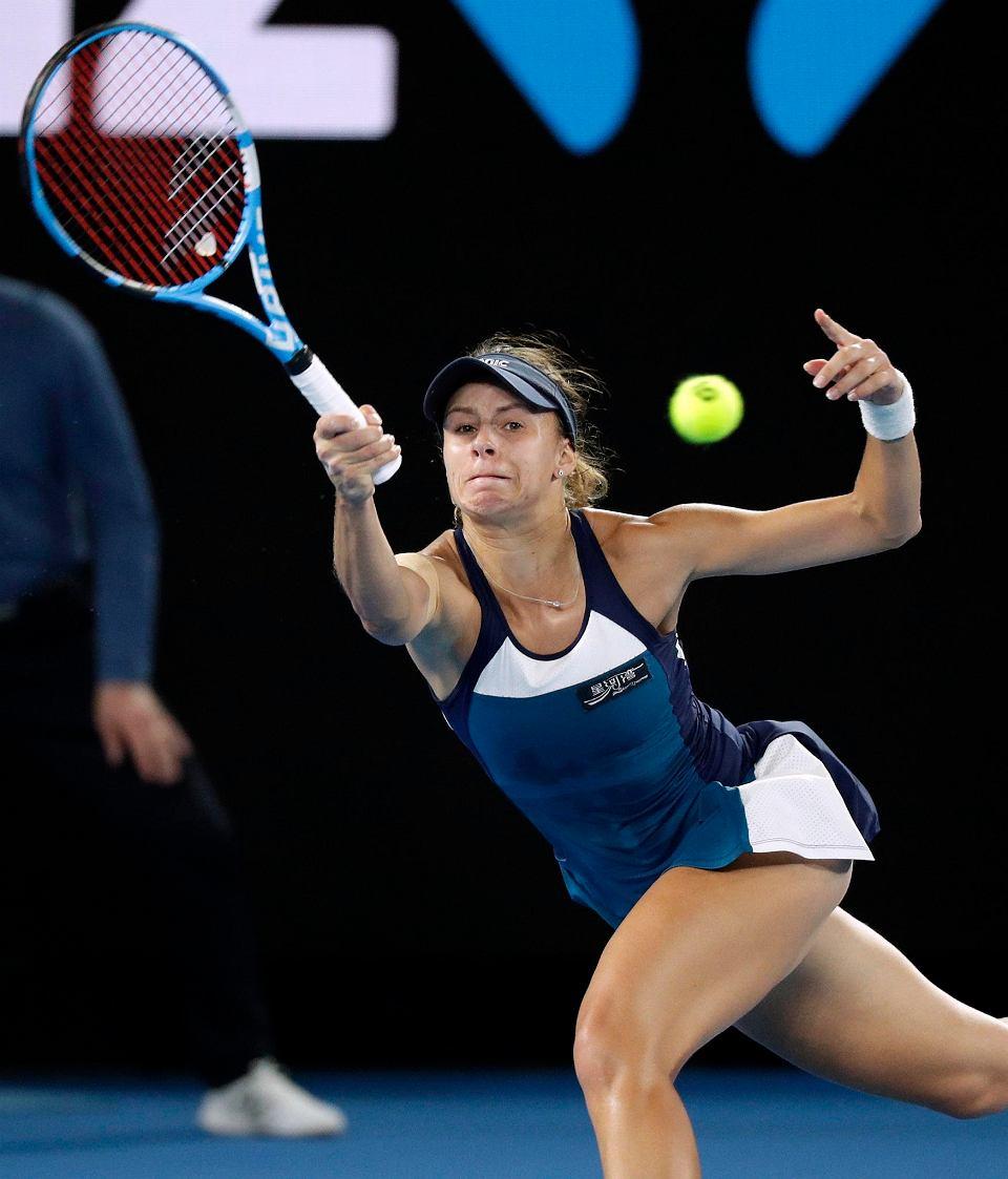Magda Linette odpadła w I rundzie Australian Open