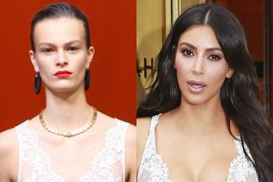 Kim Kardashian, modelka