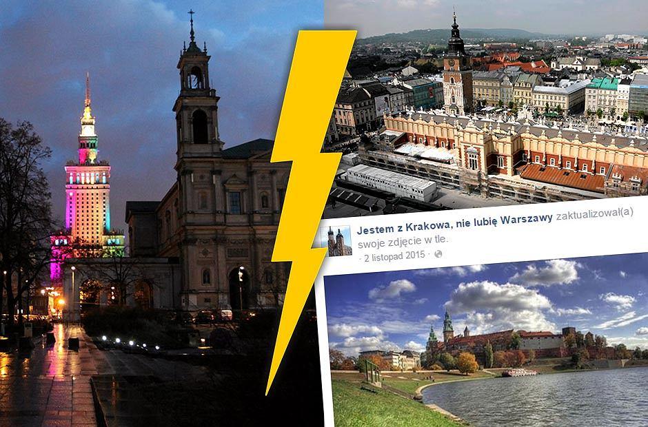 'Kraków to Średniowiecze XXI wieku', 'Warszawiacy to korpoludki'. Dlaczego krakus nie lubi warszawiaka i odwrotnie?