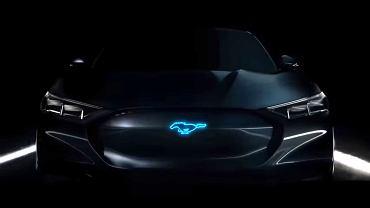 Ford Mustang Hybrid (teaser)