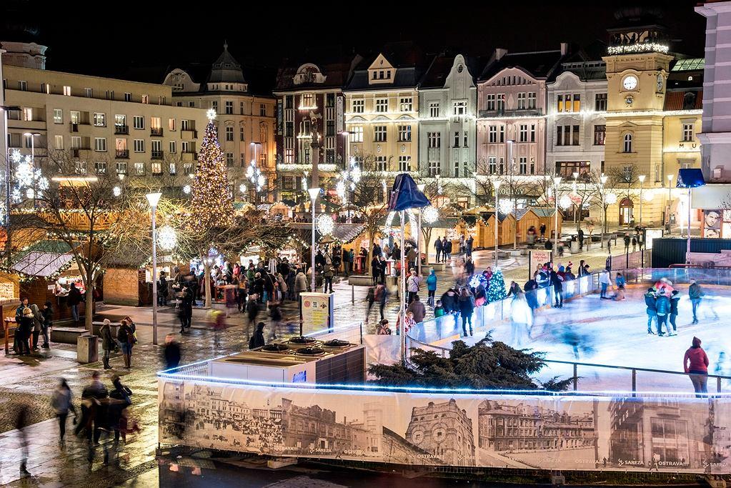 Świąteczny jarmark w Ostrawie