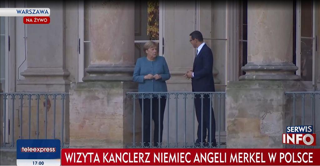 Angela Merkel w Polsce