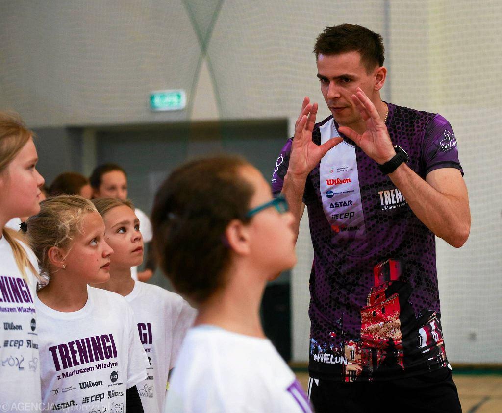 Treningi z Mariuszem Wlazłym