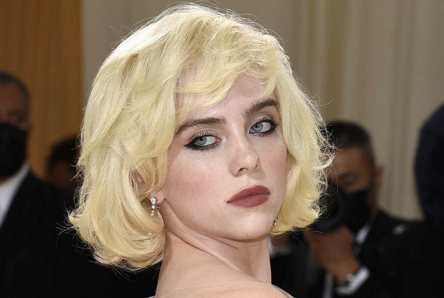 Na gali MTV jak Nosowska, teraz jak Marilyn Monroe. Billie Eilish na Gali Met jest nie do poznania!