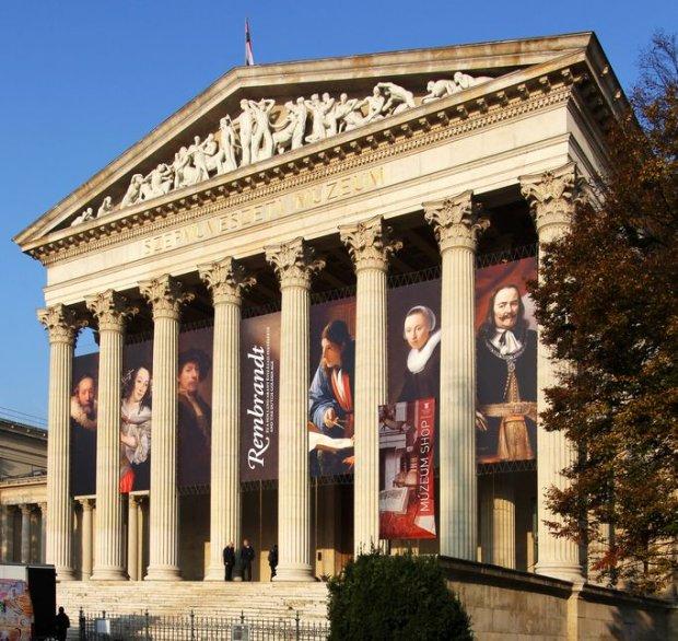 Wystawa Rembrandta i holenderskich mistrzów w Muzeum Sztuk Pięknych w Budapeszcie