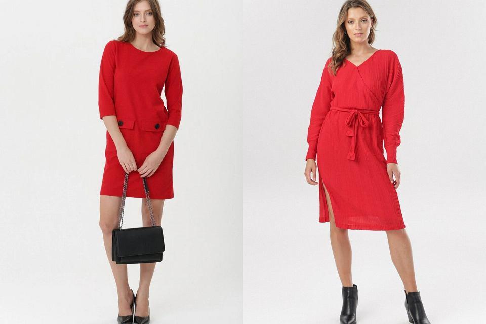 czerwone sukienki na święta