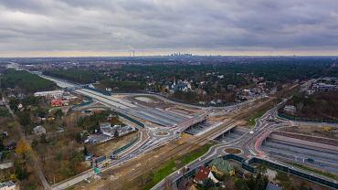 Budowa Południowej Obwodnicy Warszawy (Lubelska) - stan na listopad 2020