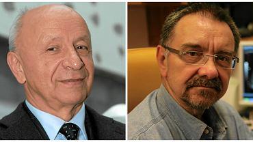 Prof. Bogdan Chazan i prof. Romuald Dębski