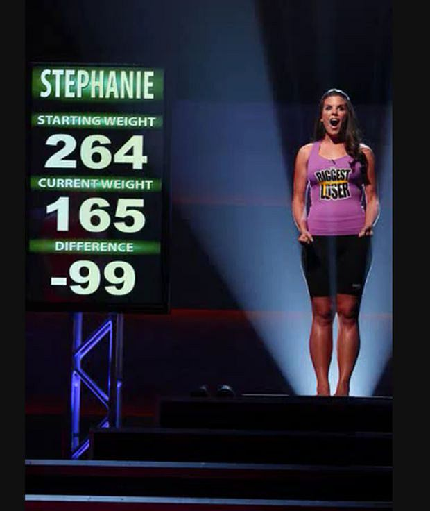 The Biggest Loser,Stephanie