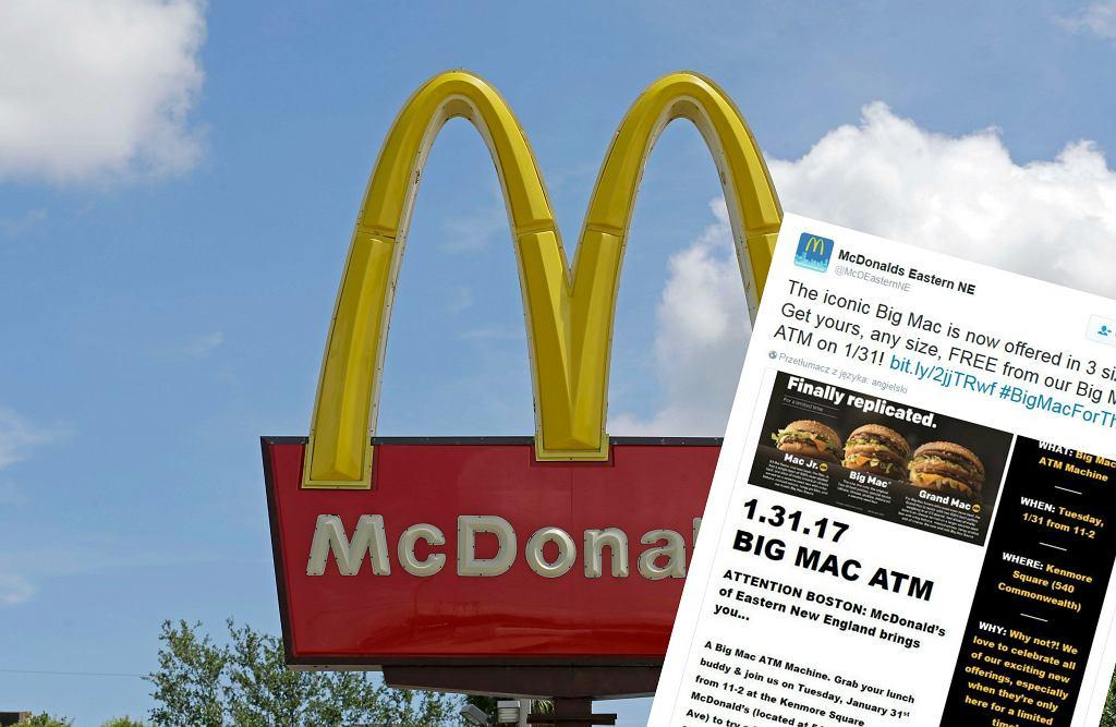 McDonald's przeprowadzi nietypową promocję