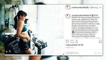 Anna Lewandowska radzi, jak trenować w ciąży