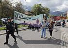 Protest klimatyczny w Zakopanem. Młodzież chce całkowitego zakazu palenia węglem oraz strefy wolnej od spalin